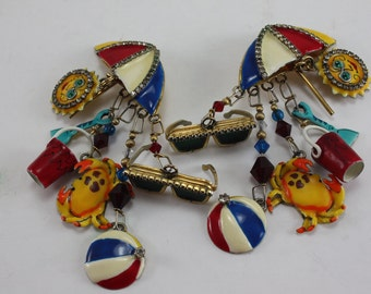 Lunch At The Ritz Earrings - Cruisewear