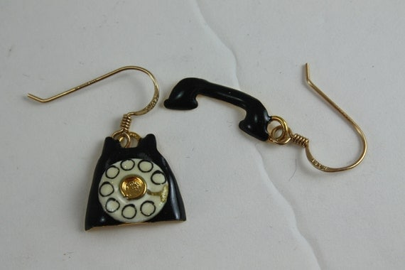 Lunch At The Ritz Earrings - Telephone