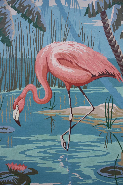 Vintage Pink Flamingos 25
