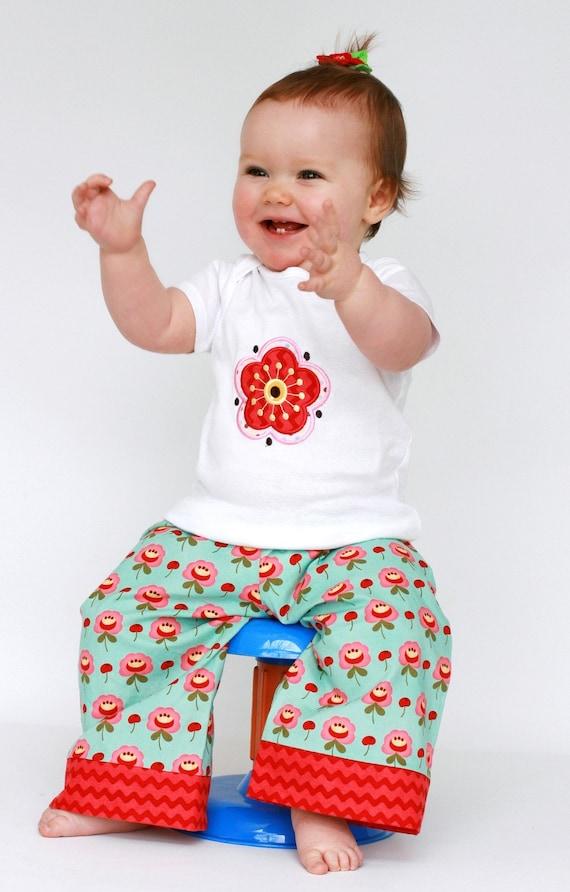 Big Buttt Baby Pants for Girls - Toddler Lounge Pants Set