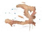5x7 or 8.5x11 - Haiti Love
