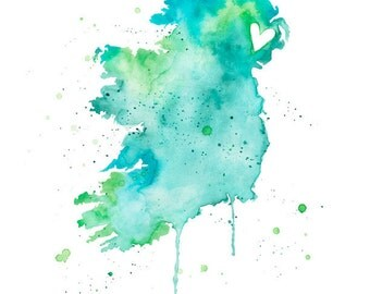 5x7 or 8.5x11 - Ireland Love