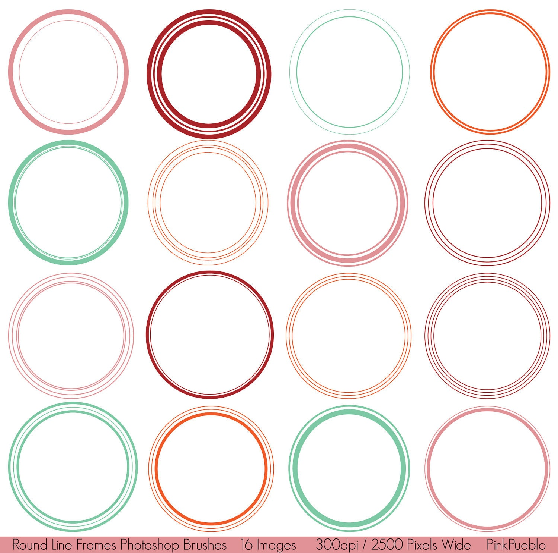 Free Download Grunge Circle Brushes | Photoshop Free ...