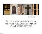 Faith ALPHABET PHOTO 8x10 Print