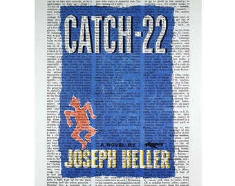 Catch 22 on a Vintage Dictionary Page