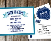 This is Love Wedding Invitations