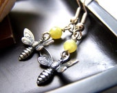 the bumble bee earrings.