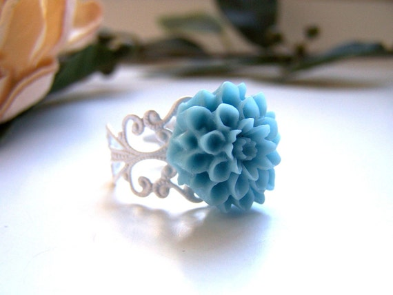 the blue clara ring.