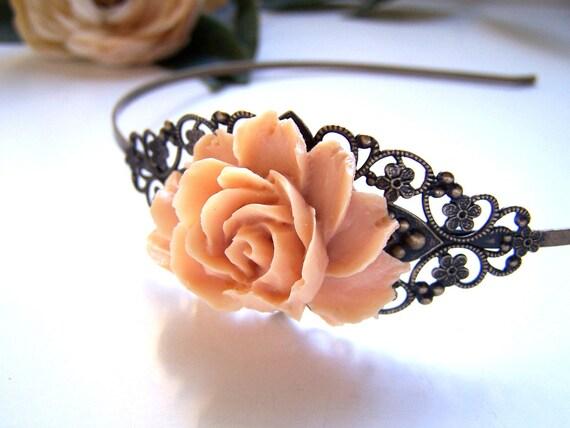 the peach sophie headband.