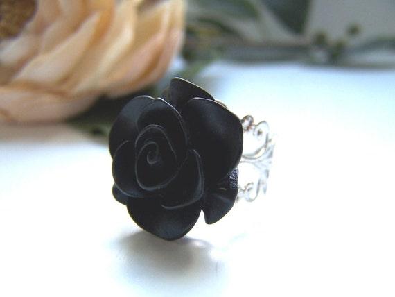 Black Margaret Ring