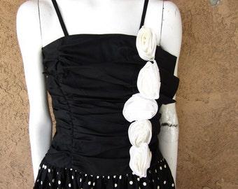 Gunne Sax Hi Low Party Dress