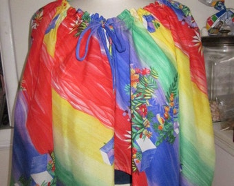 Semi Sheer Crop Blouse by King James Boho Hippie