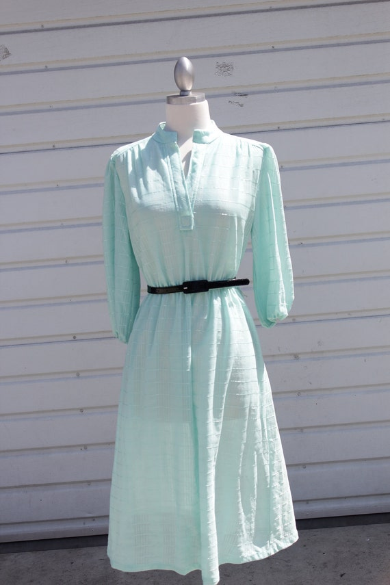 Mint Airy Day Dress