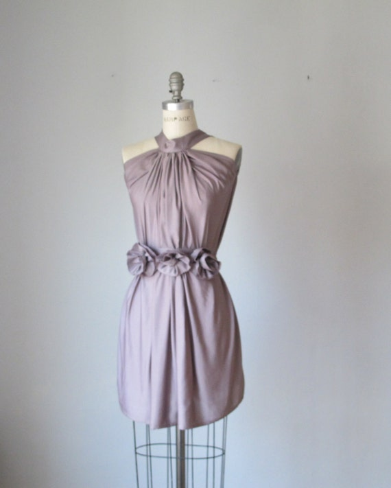 Items similar to dress romantic bridesmaids earl gray for Purple and grey wedding dresses