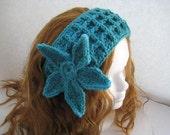 Crochet Headband Pattern - Checkered Headwrap Pattern /Earwarmer (pdf crochet pattern for women)