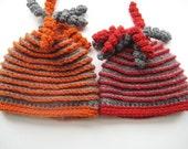 Crochet Pattern Hat , Newborn Baby to Adult,  Boy and Girl, Pdf pattern - Beehive Beanie