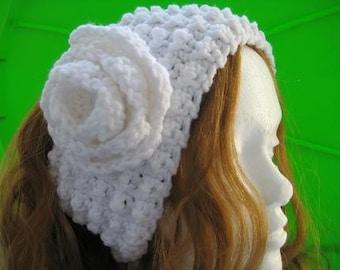 Crochet Earwarmer/ Headband (pdf pattern), Super Easy Textured  Ear Warmer