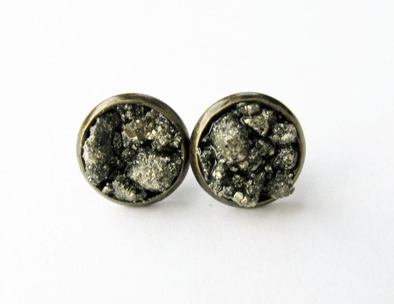 Meteor Cluster Stud Earrings
