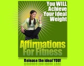 Your Ideal Weight Affirmations and Subliminal Pack