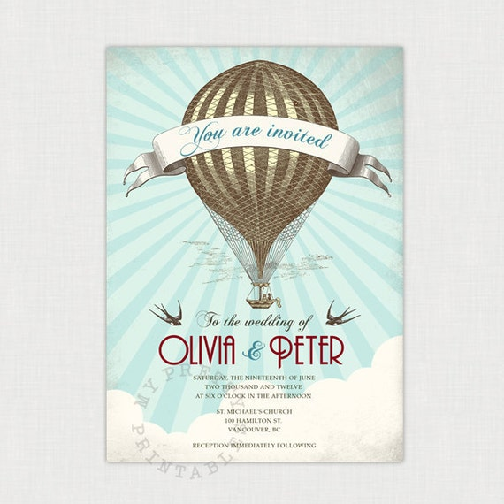 Etsy Thursday: Hot Air Balloons