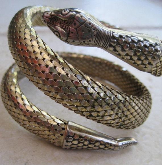 Vintage whiting and davis snake