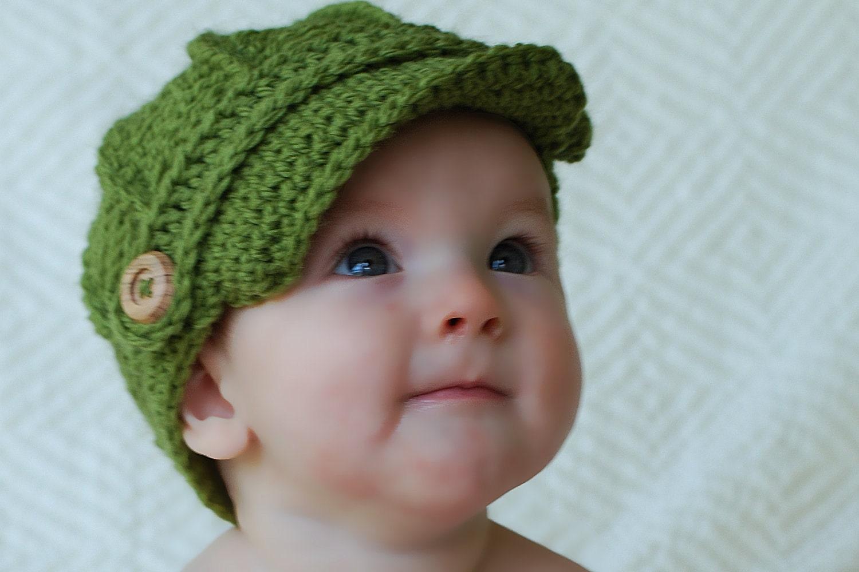 Newsboy Hat Baby Newsboy Hat Baby Hats Newborn by ...