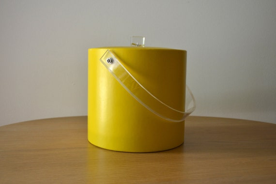 Mod Yellow Georges Briard Ice Bucket