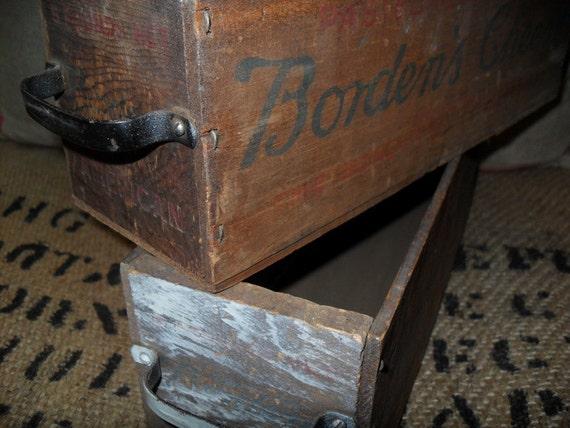 Vintage Cheese Box-Set of 2