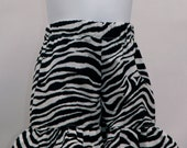 Zebra Print Ruffled Shorts - Girls size 2T 3T 4T 5T Infants- size 3 mos to 24 mos