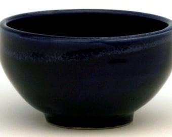 Blue Pudding Bowl