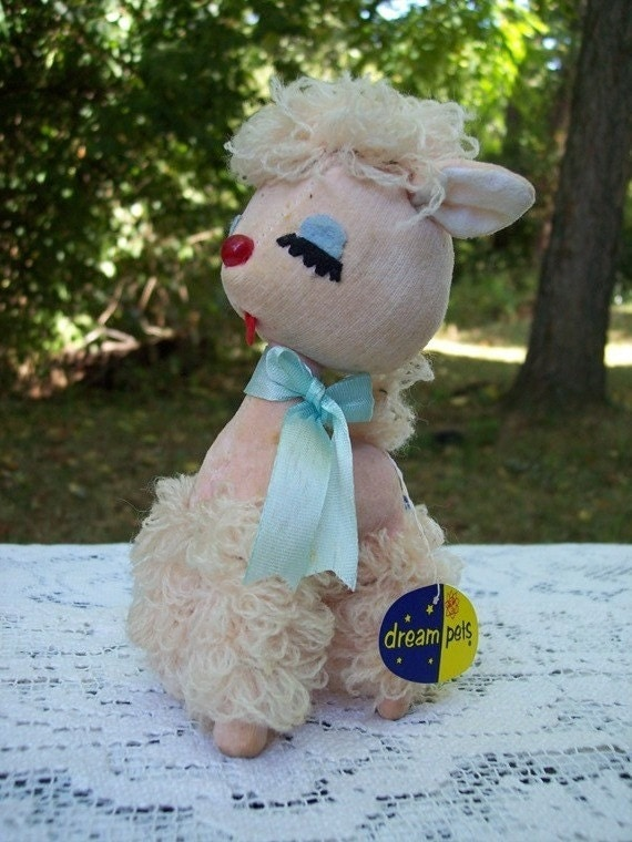 Dream Pets Lucy Lamb Stuffed Animal