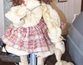 Thumbalina and her bunny George...HAFAIR Etsy Team