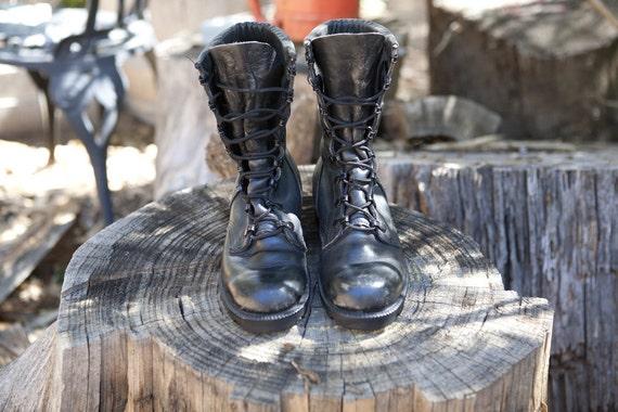 smells like teen spirit combat boots