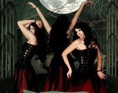 SISTERS Of The MOON - citrus, sandalwood, dark musk, woods, amber, spices, green moss, rose