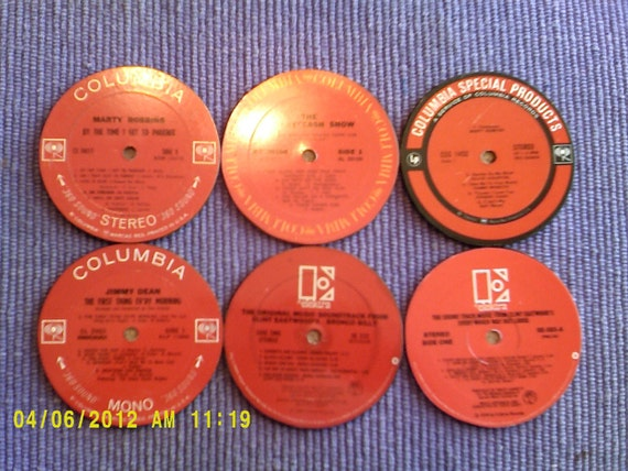Classic Country Coasters set of 6