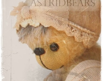 bear pattern Emilia by ASTRIDBEARS - PDF artist bear epattern Instant Download