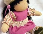 Waldorf doll Agatha