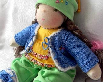 Waldorf doll Aglasha