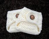 Newborn Diaper Cover Chunky Cream Diaper Cover, Crochet Newborn Diaper Cover, Baby PHOTO PROP