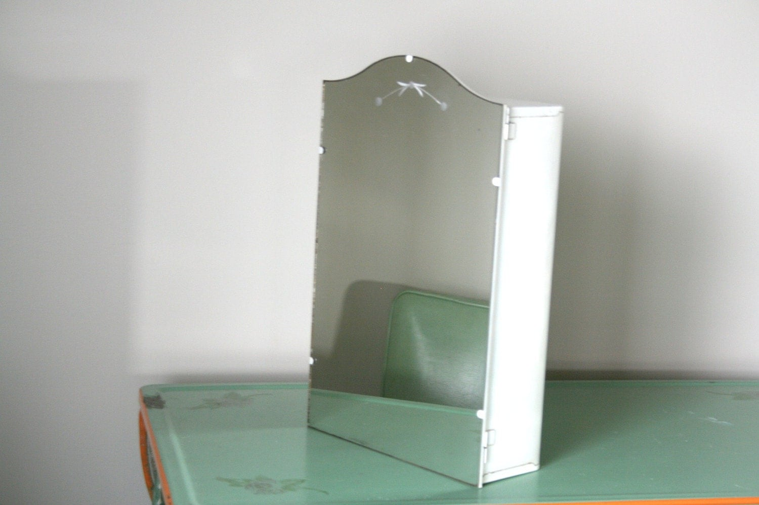 Unavailable listing on etsy - Wall cabinet with mirror for bathroom ...