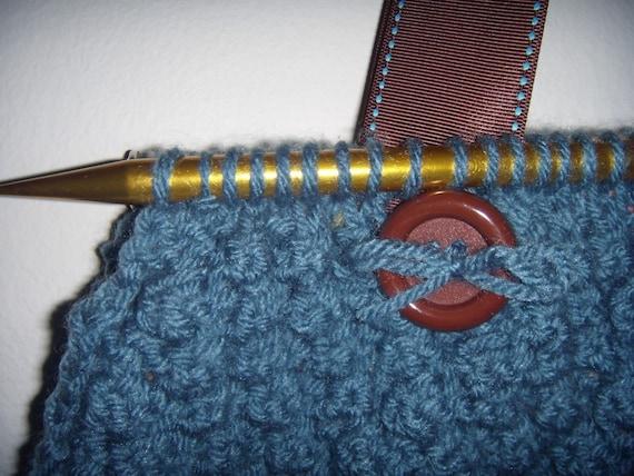 Knitting Needles Novelty : Items similar to knitting bag with unique needle