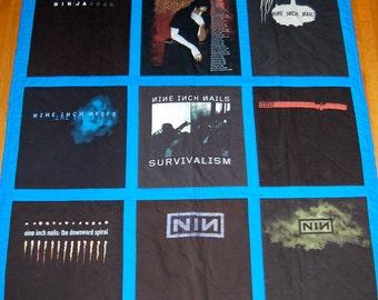 Custom Made T-Shirt Quilt, Throw Size 12 Shirts