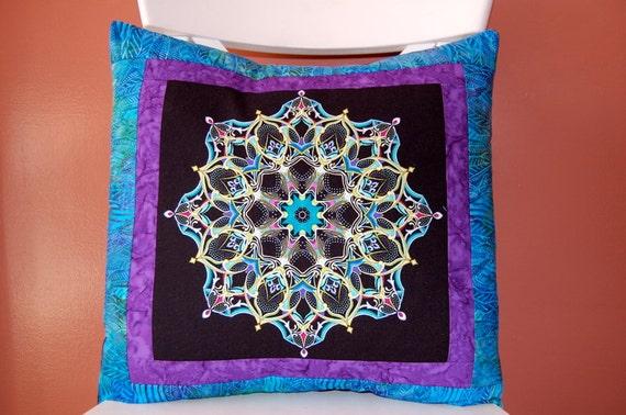 Reserved for Jennai, SALE, Kaleidoscope Pillow Collection, Batik Pillow