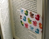 READY TO SHIP Magnetic Bookmark (Rubber Duckys)