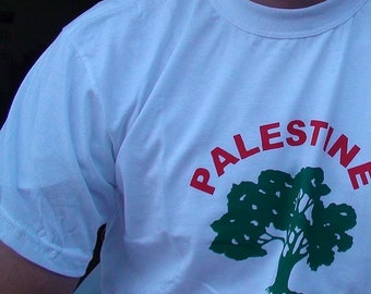 Palestine love with an olive tree T-shirt