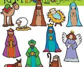 KPM Nativity Digital Clip art