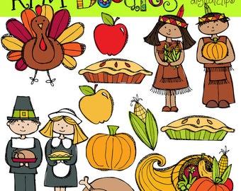 Thanksgiving Digital Clip art