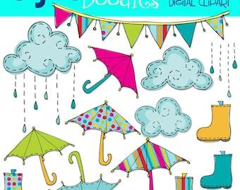 KPM Bright Rainy Day digital clip art