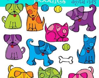 KPM Puppy Love digital clip art