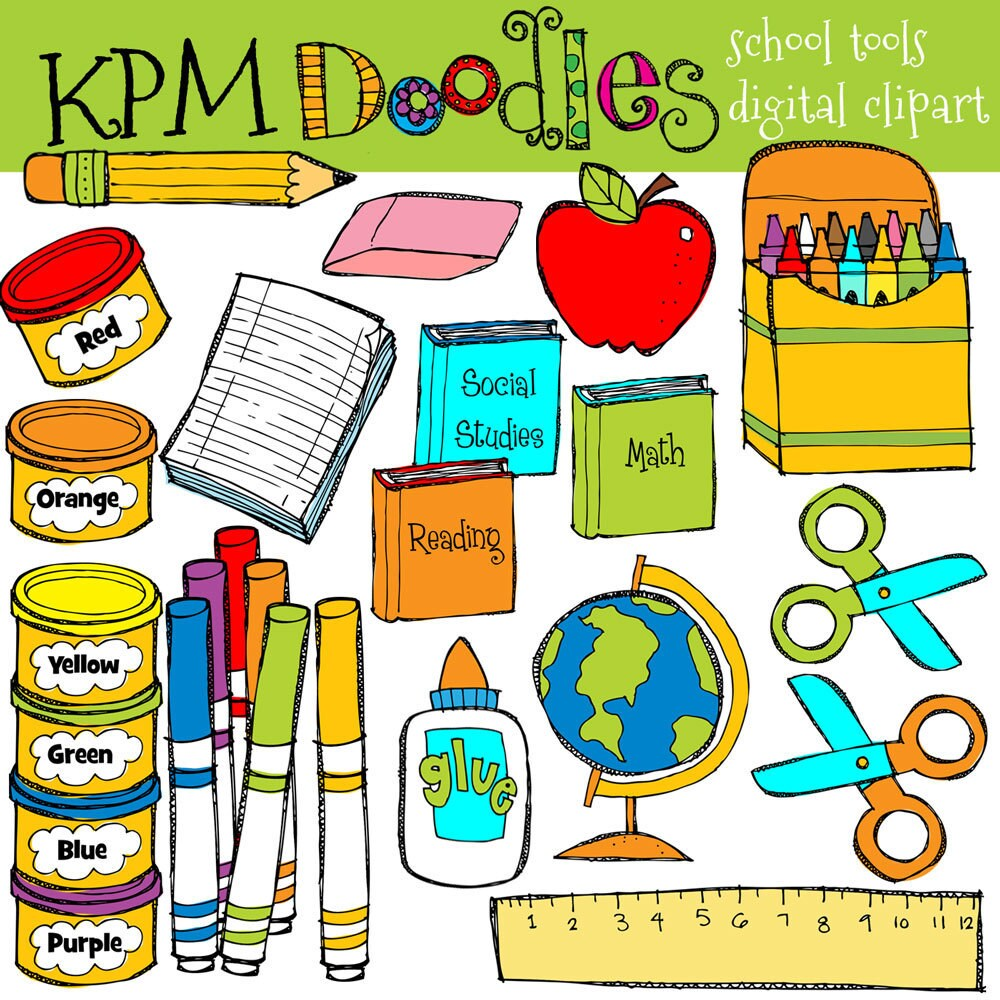 clipart school supplies - photo #40